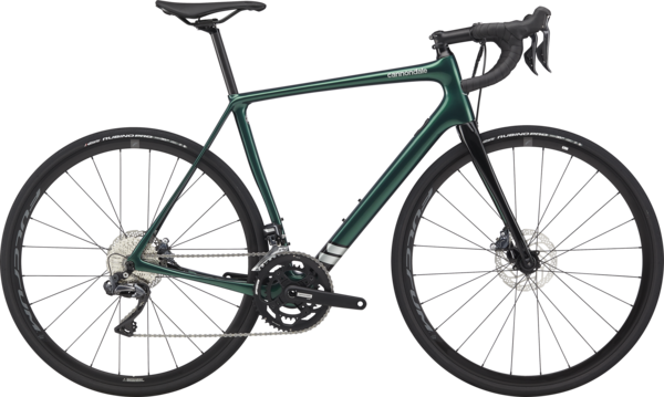Cannondale Synapse Carbon Disc Ultegra Di2 (9/8) Color: Emerald