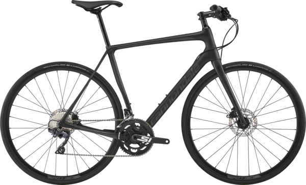 Cannondale Synapse Carbon Disc Ultegra Flatbar Color: Jet Black w/Graphite