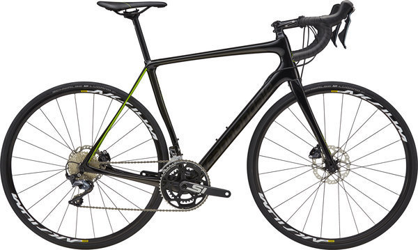 Cannondale Synapse Carbon Disc Ultegra Color: Acid Green