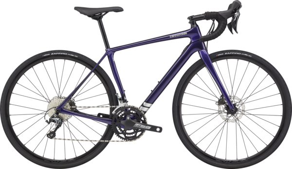 Cannondale Synapse Carbon Disc Women's Tiagra Color: Ultra Violet