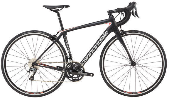 Cannondale Synapse Carbon Women's Tiagra Color: Black