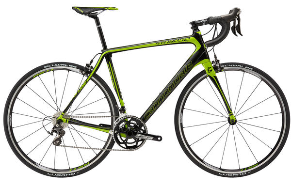 Cannondale Synapse Carbon 105 5 Color: Jet Black w/Berserker Green