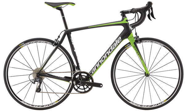 Cannondale Synapse Carbon Ultegra 3 Color: Berserker Green/Magnesium White