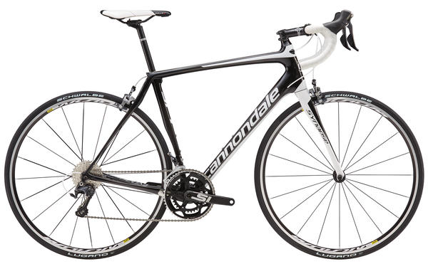 Cannondale Synapse Carbon Ultegra 4 Color: Jet Black/Magnesium White