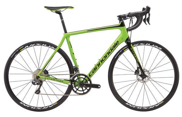 Cannondale Synapse Carbon Disc Ultegra Di2 Color: Berserker Green w/ Jet Black