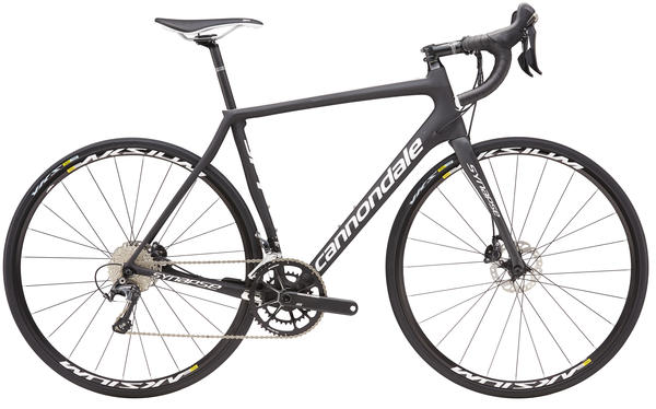 Cannondale Synapse Carbon Disc Ultegra 3 Color: Carbon w/ Jet Black