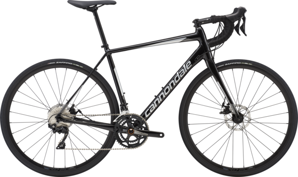 Cannondale Synapse Disc 105 Color: Black Pearl w/Fine Silver and Charcoal