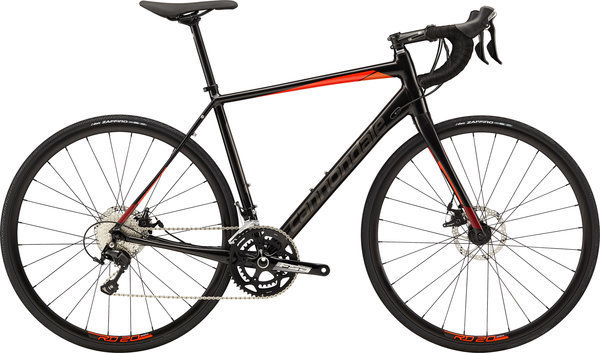 Cannondale Synapse Disc 105 Color: BBQ