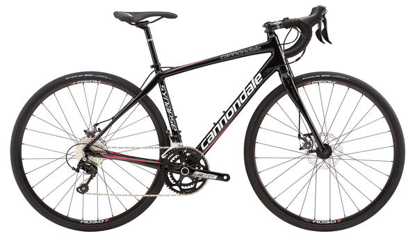Cannondale Synapse Disc 105 5 - Women's Color: Jet Black w/Magnesium White