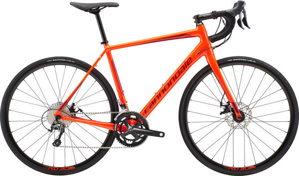 Cannondale Synapse Disc Tiagra Color: Acid Red