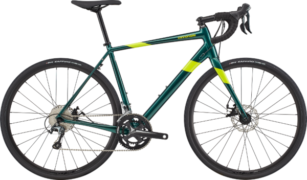 Cannondale Synapse Disc Tiagra Color: Emerald