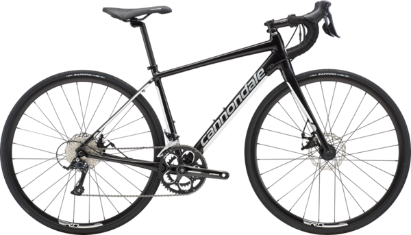 Cannondale Synapse Disc Women's Sora Color: Jet Black w/Fine Silver and Cashmere