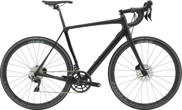 Cannondale Synapse Hi-Mod Disc Dura-Ace Color: Matte Black w/Gloss Black