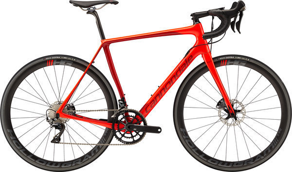 Cannondale Synapse Hi-MOD Disc Dura-Ace Color: Acid Red
