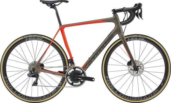 Cannondale Synapse Hi-Mod Disc Dura-Ace Di2 (k5) Color: Meteor Gray w/Acid Red and Graphite