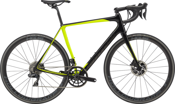 Cannondale Synapse Hi-MOD Disc Dura-Ace Di2 Color: Volt