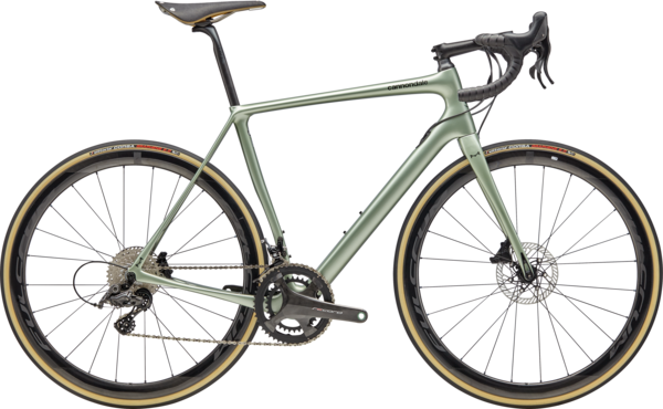 Cannondale Synapse Hi-MOD Disc Record Color: Agave