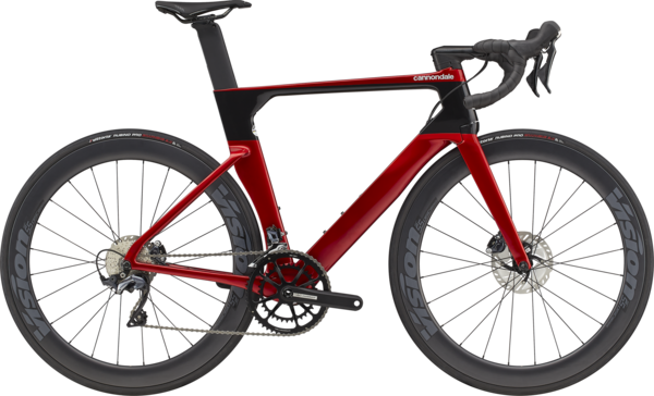 Cannondale SystemSix Carbon Ultegra (Available April 2021-Taking Pre-Orders) Color: Candy Red