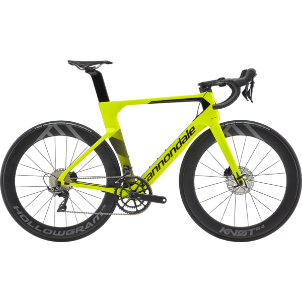 Cannondale SystemSix Carbon Dura-Ace Color: Volt w/Jet Black - Gloss
