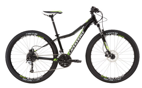 Cannondale Tango 5 - Women's Color: Jet Black w/ Magnesium White and Berzerker Green