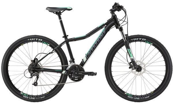 Cannondale Tango 27.5 5 - Women's Color: Jet Black w/Charcoal Gray