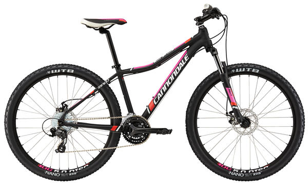 Cannondale Tango 27.5 7 - Women's Color: Jet Black w/Haute Pink