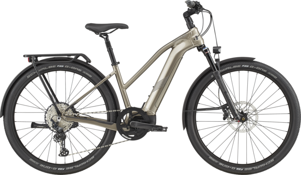 Cannondale Tesoro Neo X 1 Remixte Color: Meteor Gray