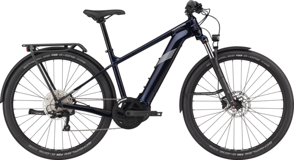 Cannondale Tesoro Neo X 2 Color: Midnight Blue