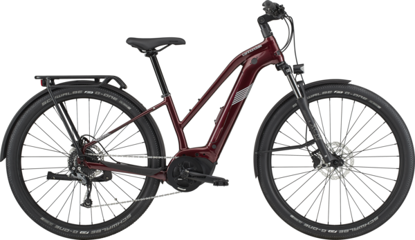 Cannondale Tesoro Neo X 3 Remixte Color: Maroon