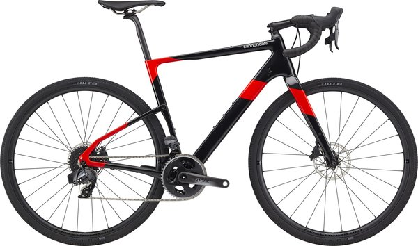 Cannondale Topstone Carbon Force eTap AXS Color: Acid Red