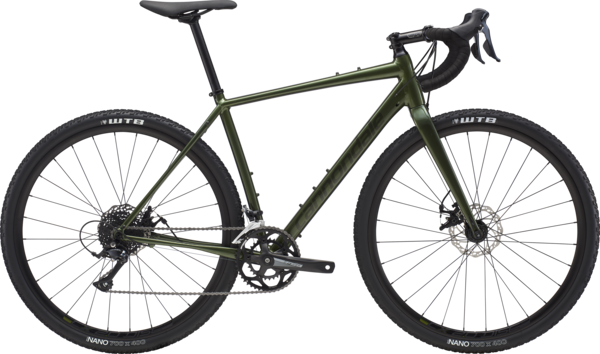 Cannondale Topstone Sora Color: Vulcan Green