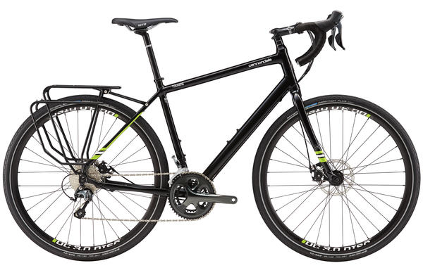 Cannondale Touring 1 Color: Jet Black/Berserker Green
