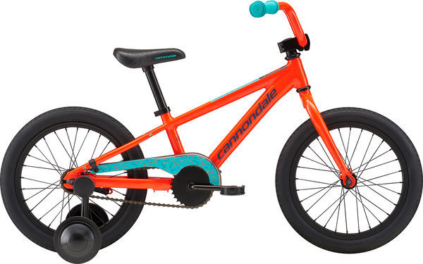 Cannondale Trail 16 Single-Speed Boy's Color: Acid Red