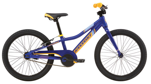 Cannondale Trail 20 Single-Speed Boy's Color: Cobalt Blue