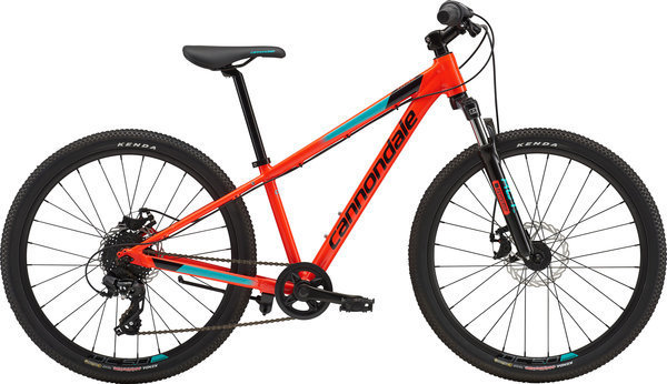 Cannondale Trail 24 Boy's (h12) Color: Acid Red