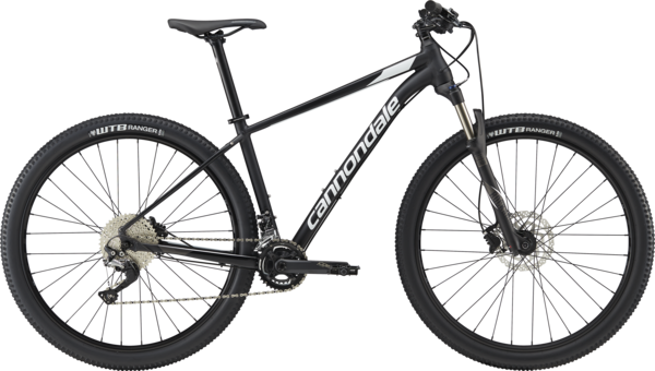 Cannondale Trail 3 Color: Jet Black w/White and Anthracite