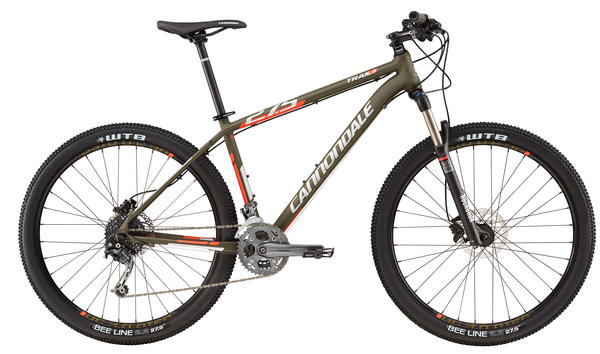 Cannondale Trail 3 Color: Green Clay w/ Acid Red, Reflective Silver, Matte