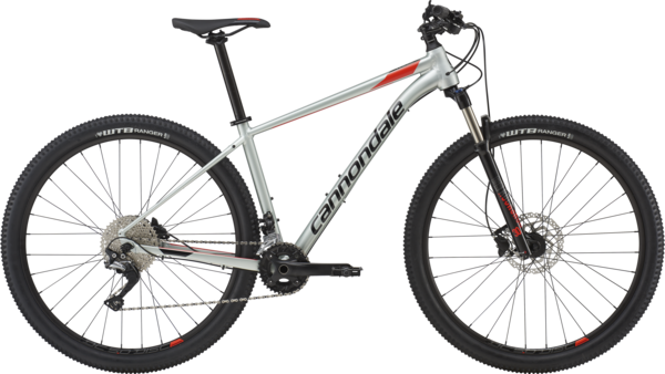 Cannondale Trail 4 Color: Sage Gray w/Acid Red and Jet Black