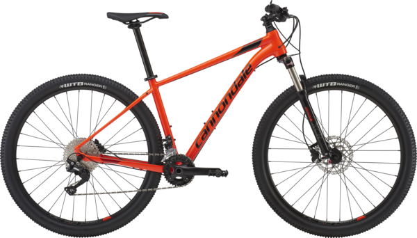 Cannondale Trail 5 (h7) Color: Acid Red w/Jet Black and Fire Red