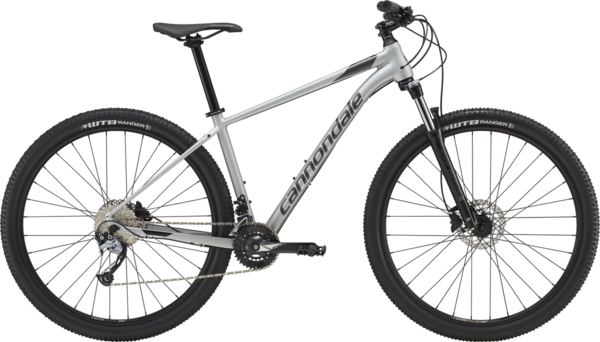 Cannondale Trail 6 Color: Fine Silver w/Graphite and Black Pearl