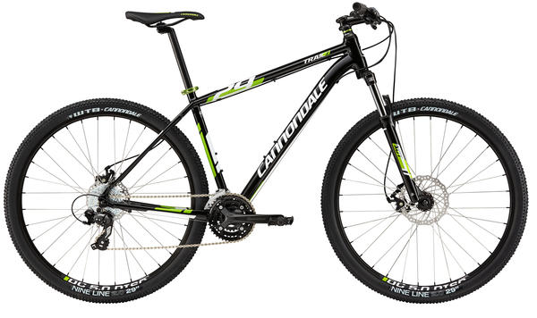 Cannondale Trail 7 Color: Jet Black w/Magnesium White