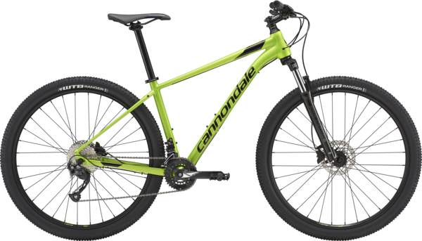 Cannondale Trail 7 Color: Acid Green w/ Jet Black