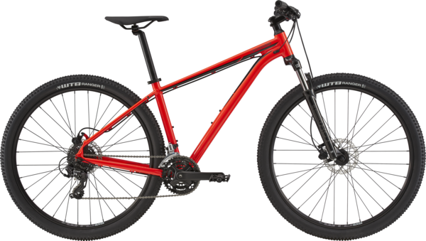 Cannondale Trail 7 Color: Acid Red