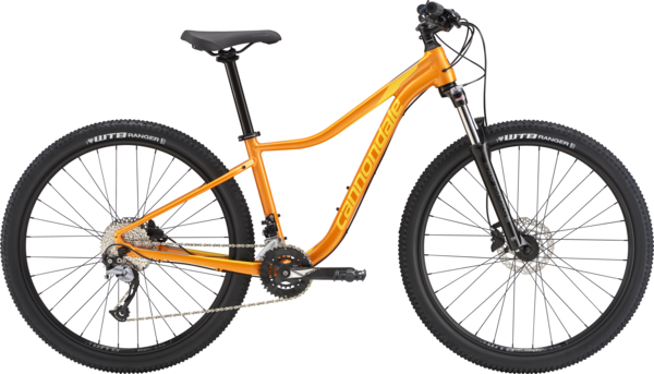 Cannondale Trail Tango 3 Color: Tangerine w/Hot Yellow and Meteor Gray