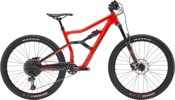 Cannondale Trigger 3 Color: Acid Red w/Graphite and Black Pearl