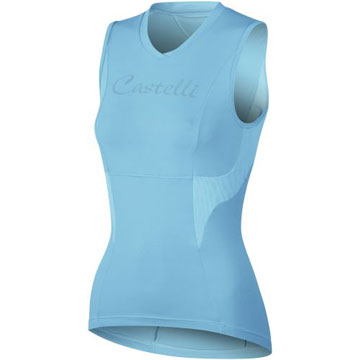 Castelli Dolce Sleeveless Jersey - Women's Color: Turquoise