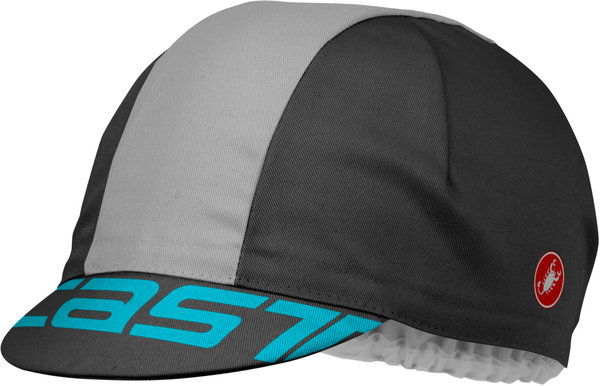 Castelli A Bloc Cap Color: Anthracite/Gray