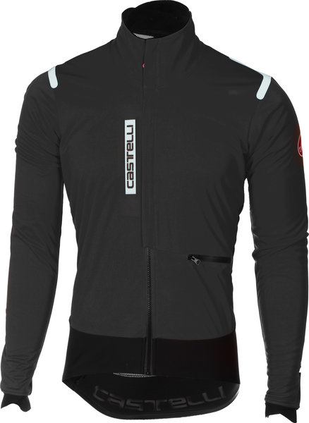 Castelli Alpha RoS Jacket Color: Light Black/Black