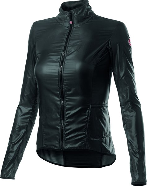 Castelli Aria Shell W Jacket Color: Dark Gray