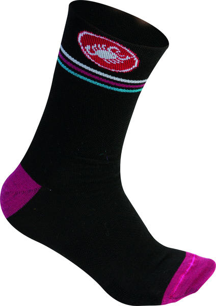 Castelli Atelier 13 Socks - Women's Color: Black